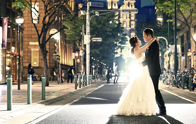 DE & Co. Decollte Wedding Photography in Japan. A Japanese Wedding Photo Studio. | 德可莉日本專業婚紗攝影 | Kobe | 神戶 | The Cinema | 愛。電影