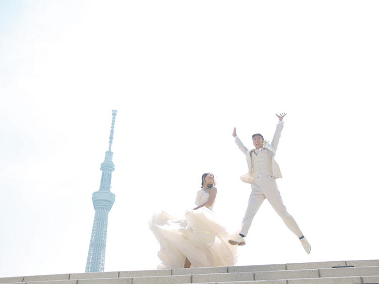 DE & Co. Decollte Wedding Photography in Japan. A Japanese Wedding Photo Studio. | 德可莉日本專業婚紗攝影 | Tokyo | 東京 | Visiting old, learn new | 傳統 × 現代 × 桜