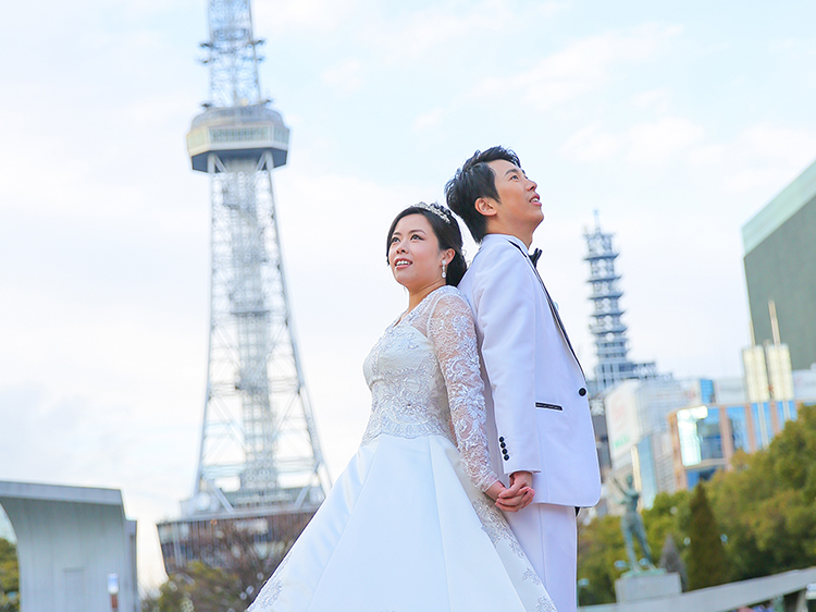 DE & Co. Decollte Wedding Photography in Japan. A Japanese Wedding Photo Studio. | 德可莉日本專業婚紗攝影 | Nagoya | 名古屋 | Central Nagoya March | 時尚 × 古城