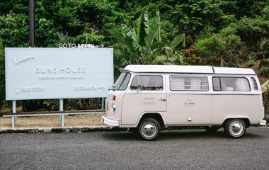Studio SUNS HOUSE Okinawa Address Usiroyahikubara1431-1, Yamazato, Motobu-cho Kunigami-gun, Okinawa, 905-0219, Japan
