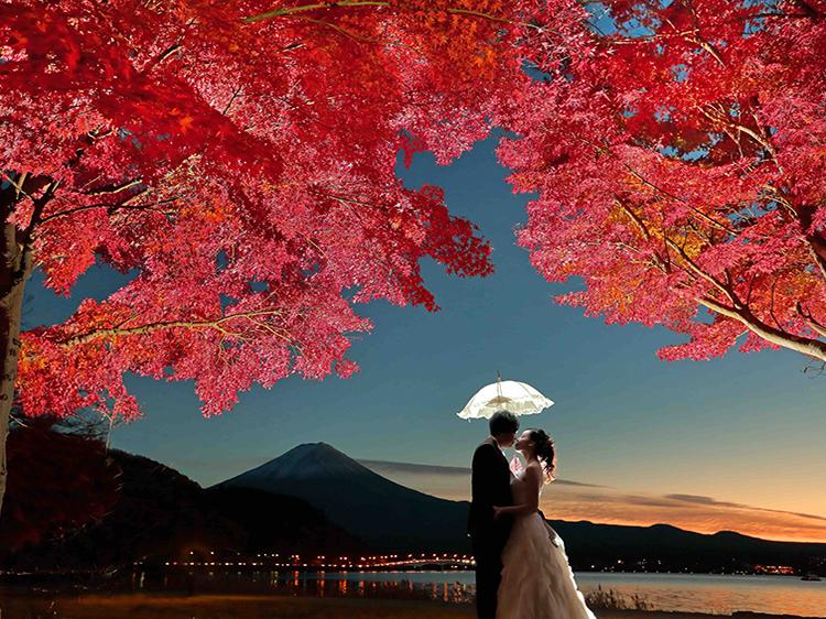 夕焼け紅葉のコピー