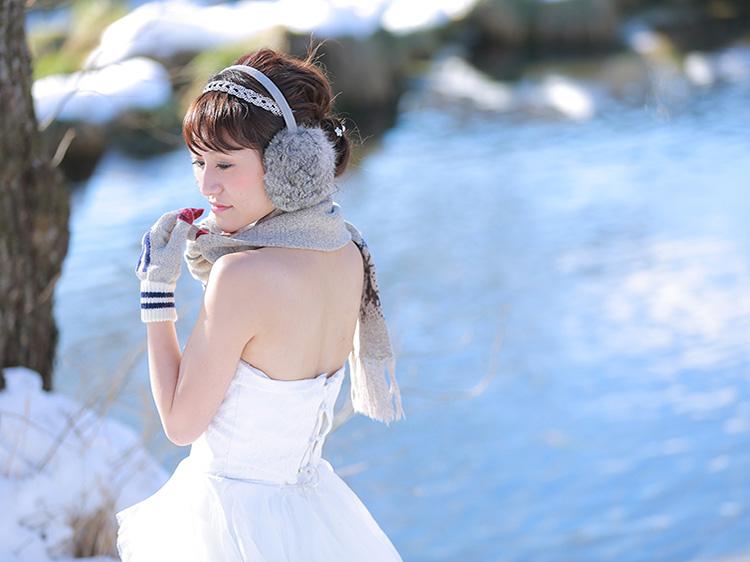 洋装 雪-3