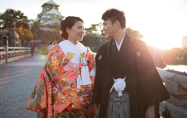 DE & Co. Decollte Wedding Photography in Japan. A Japanese Wedding Photo Studio. | 德可莉日本專業婚紗攝影 | Osaka | 大阪 | Falling for you | 留戀於你