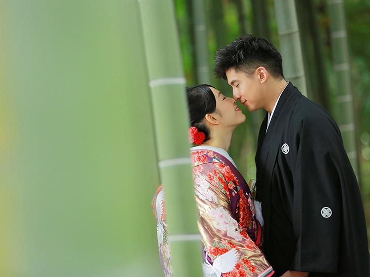 DE & Co. Decollte Wedding Photography in Japan. A Japanese Wedding Photo Studio.   德可莉日本專業婚紗攝影   Tokyo   東京   Two styles   倒轉。日本の時光