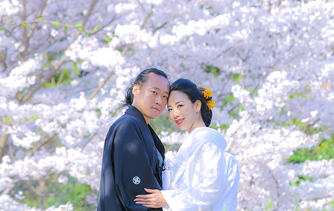 DE & Co. Decollte Wedding Photography in Japan. A Japanese Wedding Photo Studio. | 德可莉日本專業婚紗攝影 | Kyoto | 京都 | Sakura Romance | 櫻花。絢爛