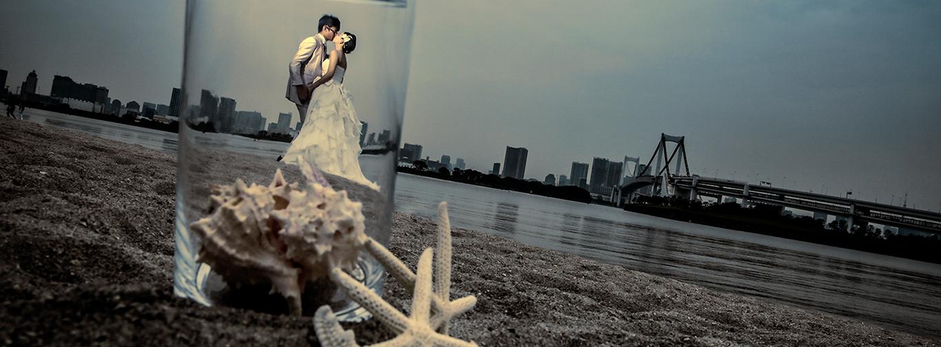 DE & Co. Decollte Wedding Photography in Japan. A Japanese Wedding Photo Studio.   德可莉日本專業婚紗攝影   Tokyo   東京   The big smile day   東京的美好回憶