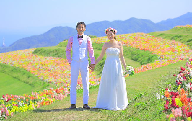 DE & Co. Decollte Wedding Photography in Japan. A Japanese Wedding Photo Studio. | 德可莉日本專業婚紗攝影 | Kobe | 神戶 | Flower × Flower × Flower! | 花花世界