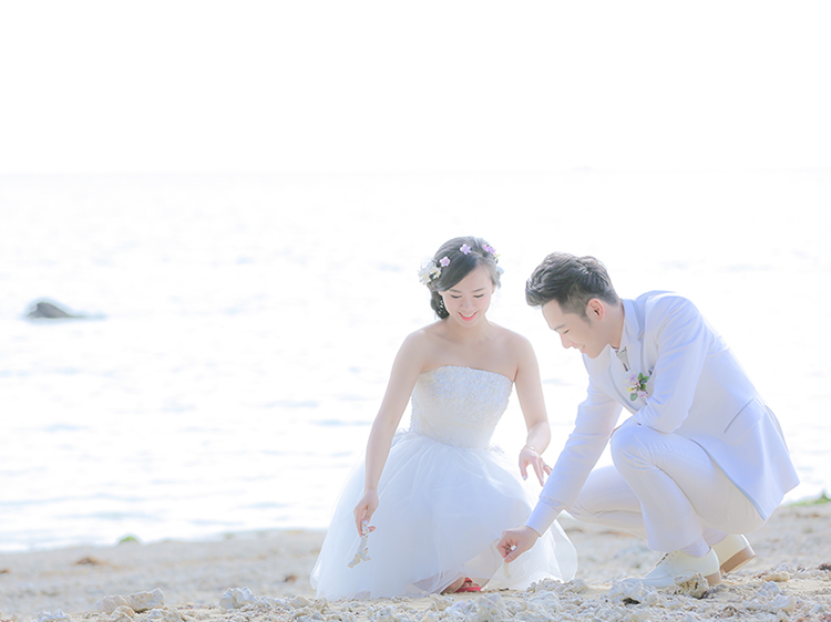 DE & Co. Decollte Wedding Photography in Japan. A Japanese Wedding Photo Studio. | 德可莉日本專業婚紗攝影 | Okinawa | 沖繩 | Our Love Story | 專屬愛情故事