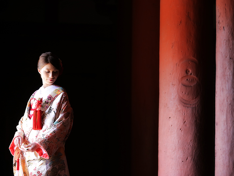 DE & Co. Decollte Wedding Photography in Japan. A Japanese Wedding Photo Studio. | 德可莉日本專業婚紗攝影 | Kobe | 神戶 | A Sign of Autumn | 秋天來了