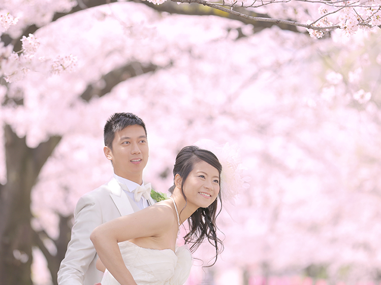 DE & Co. Decollte Wedding Photography in Japan. A Japanese Wedding Photo Studio. | 德可莉日本專業婚紗攝影 | Tokyo | 東京 | Visiting old, learn new | 傳統 × 現代 × 桜