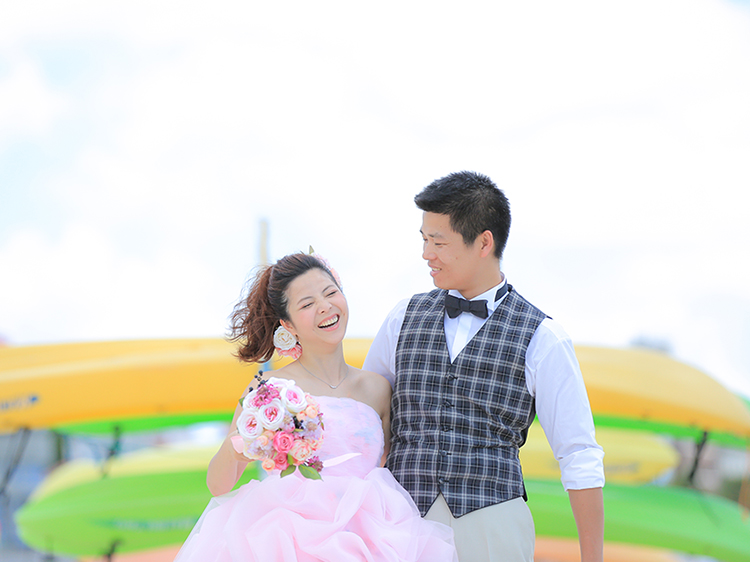 DE & Co. Decollte Wedding Photography in Japan. A Japanese Wedding Photo Studio. | 德可莉日本專業婚紗攝影 | Okinawa | 沖繩 | Vow of Love | 愛情誓言